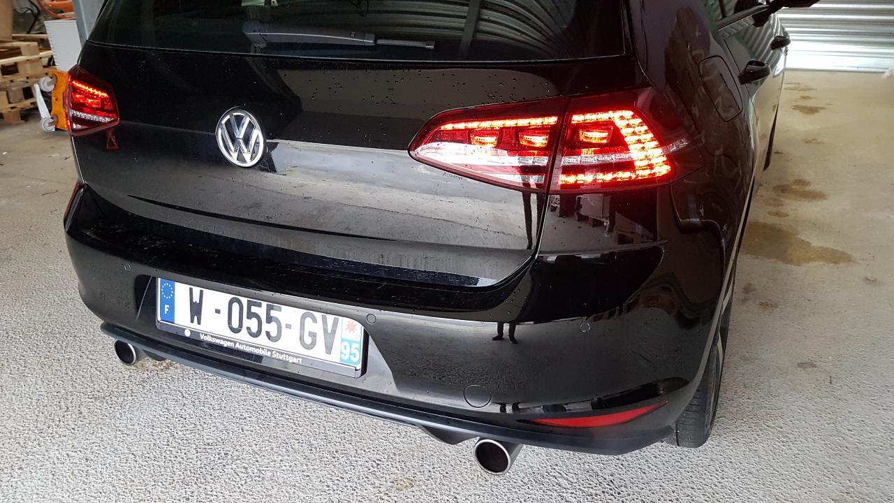 VW GOLF 7 GTI PERFORMANCE