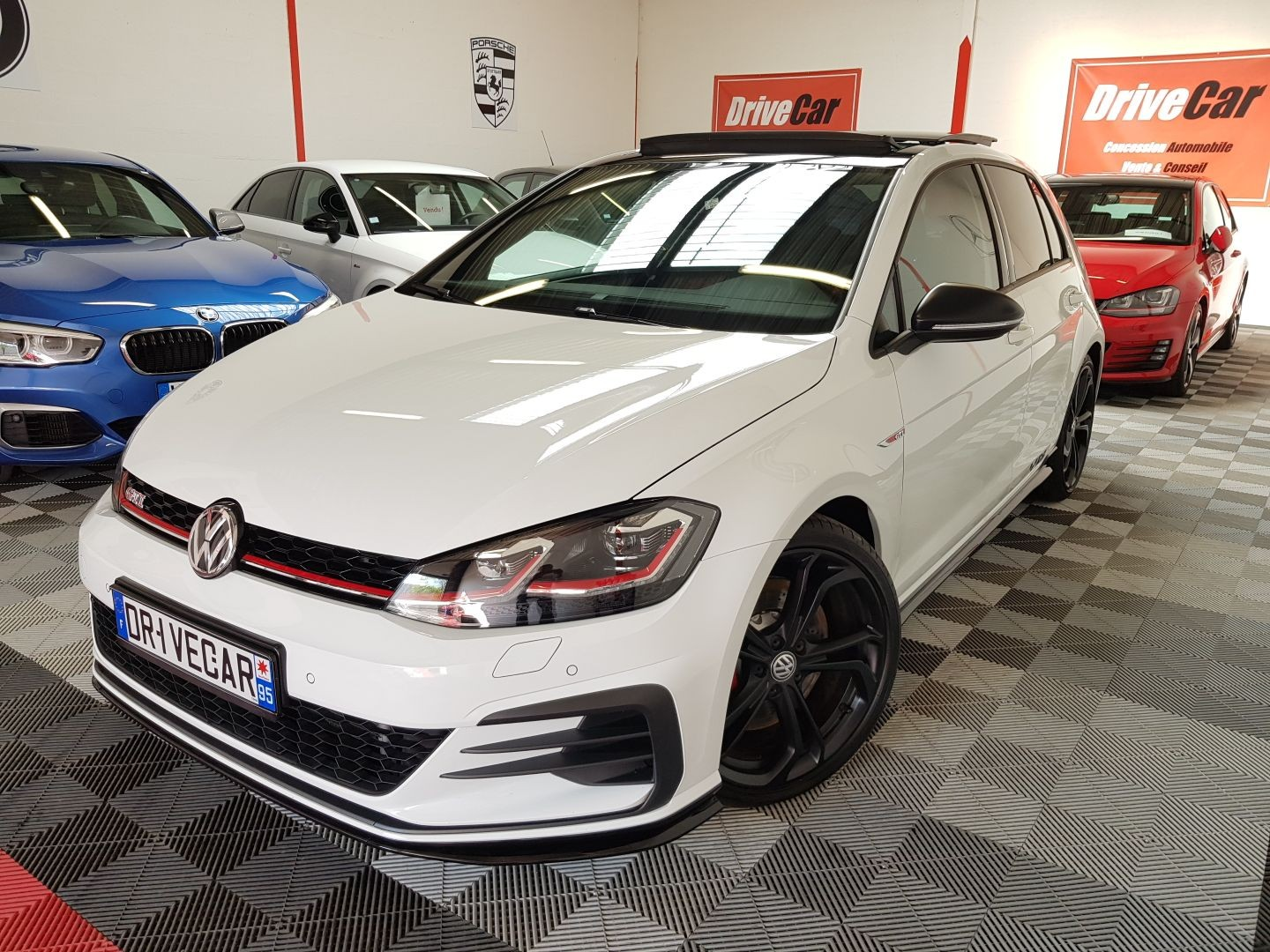 VW GOLF 7 GTI TSI 290 TCR
