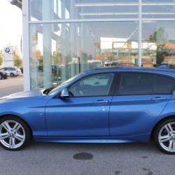 BMW 116D 62750KM 12 2014 BLEU 5P 02
