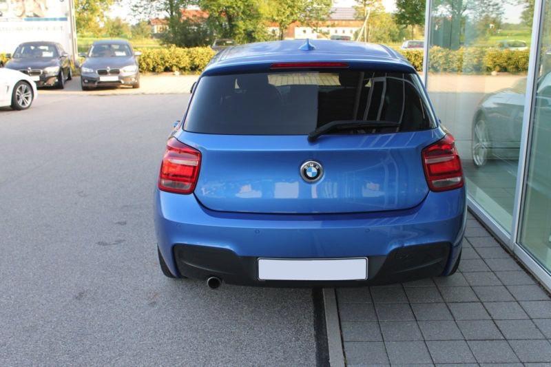 BMW 116D 62750KM 12 2014 BLEU 5P 05