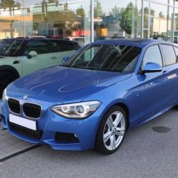BMW 116D 62750KM 12 2014 BLEU 5P