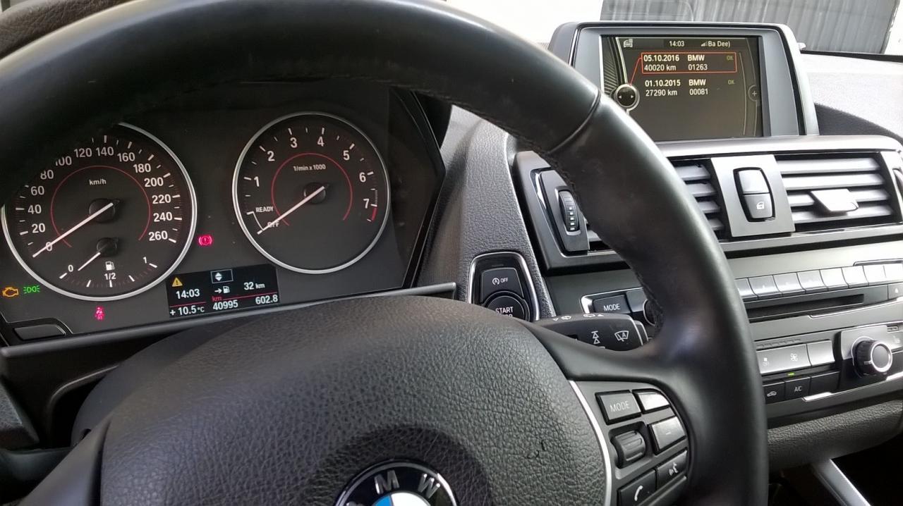 BMW 116i Grise 41mkm 2013 10
