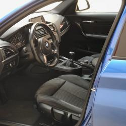 BMW M-SPORT 118D 68 000 km 12 2014 BLEU