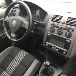 VW TOURAN 1.9TDI 98 530 km 09 2008 GRIS 06