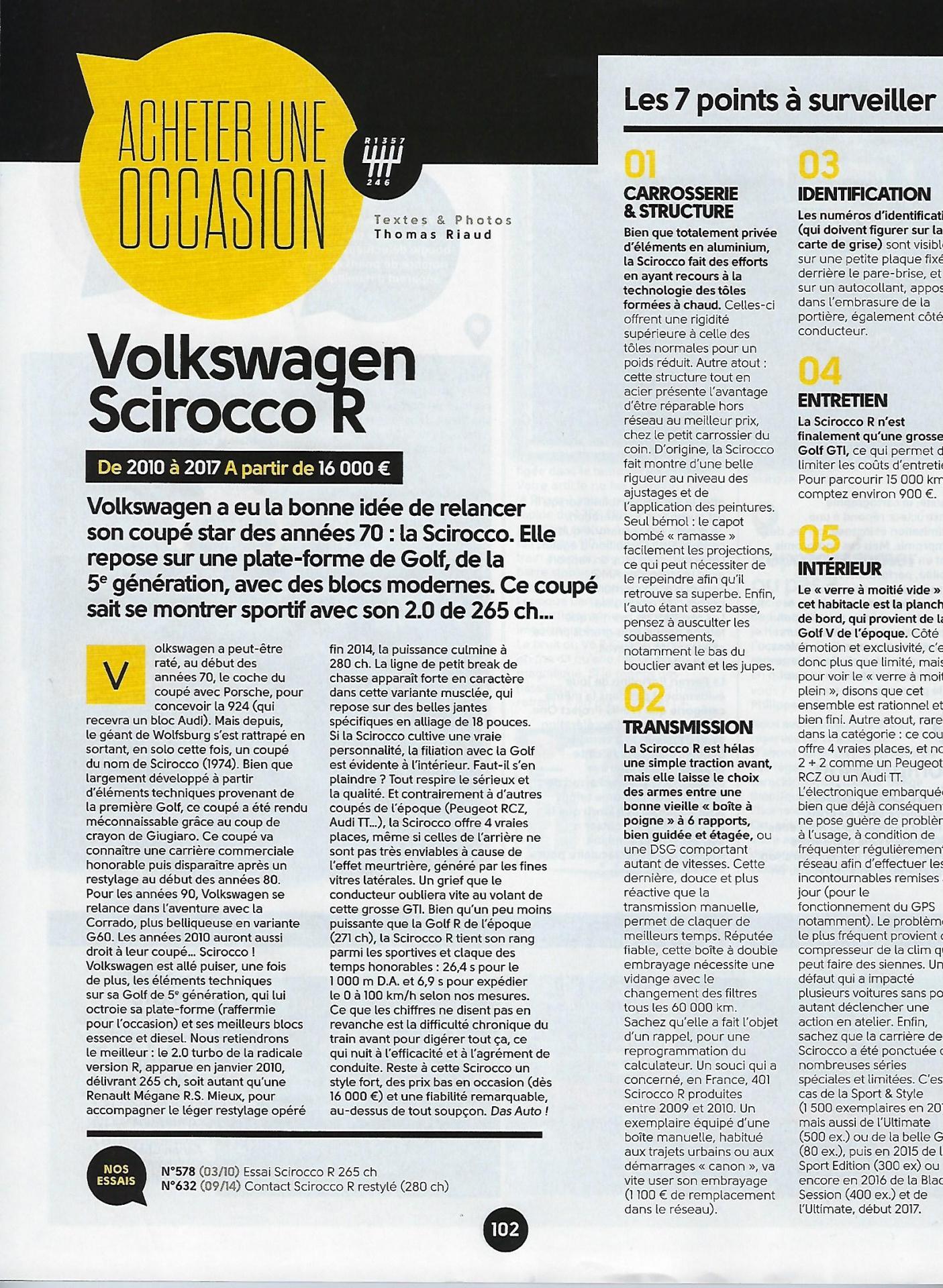 Sport auto reportage drivecar page 2