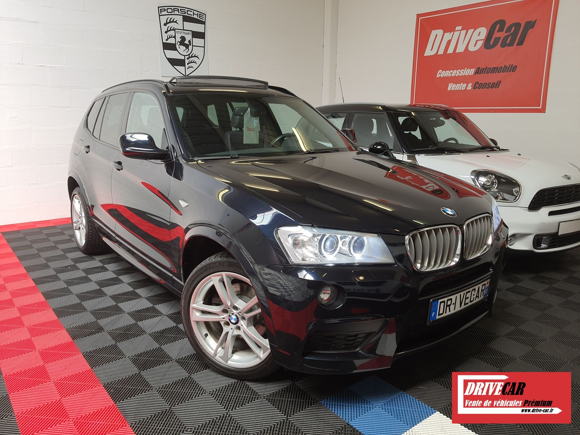 BMW X3 30D 258CH