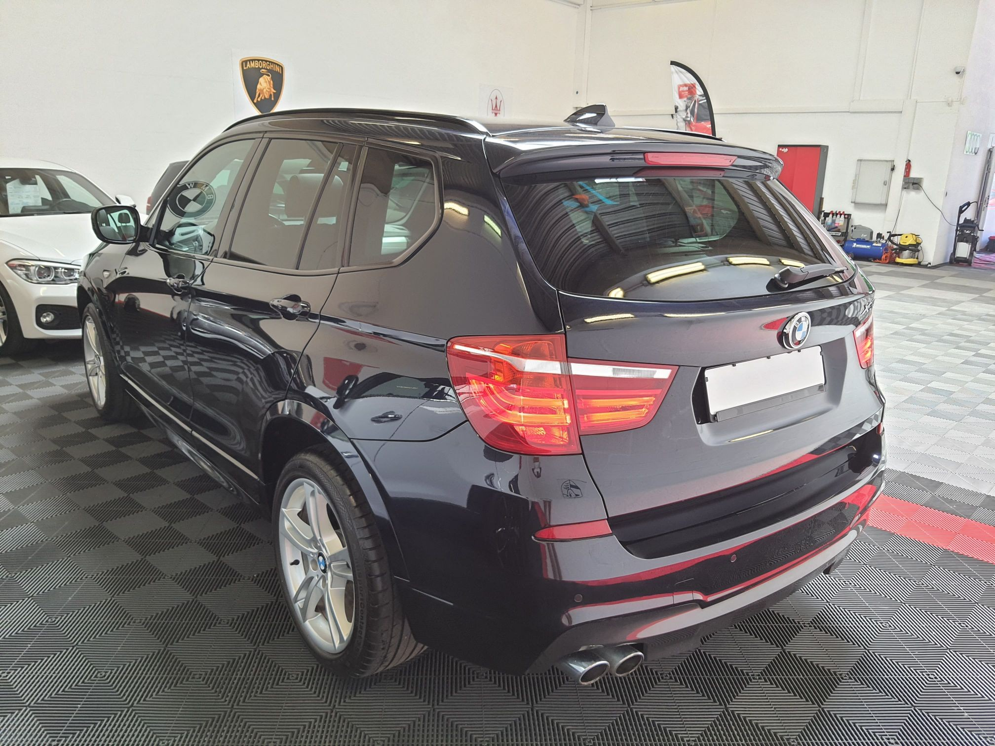 BMW X3 30D 3L 258CH