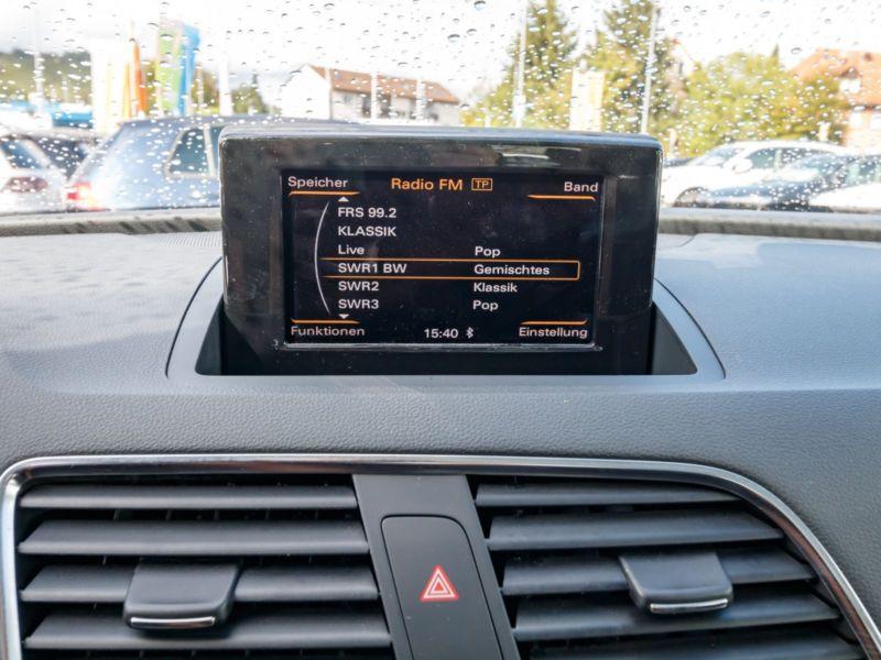 AUDI Q3 SLINE 59 400 km 08 2013 PANO CUIR 18P BLANC