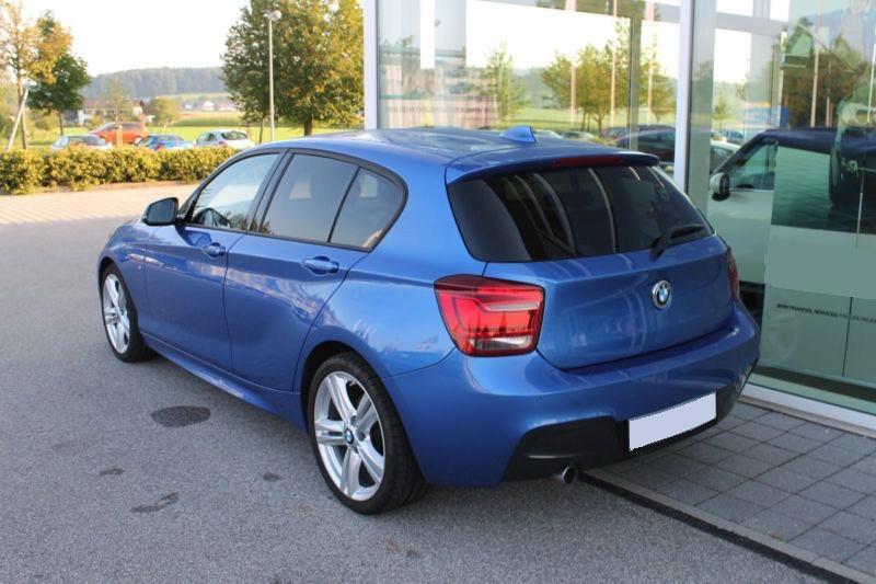 BMW 116D 62750KM 12 2014 BLEU 5P 03