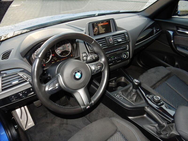 BMW 116D 62750KM 12 2014 BLEU 5P 09