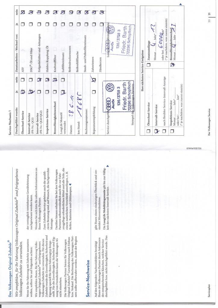 Entretien Golf 6 GTI PAGE 1