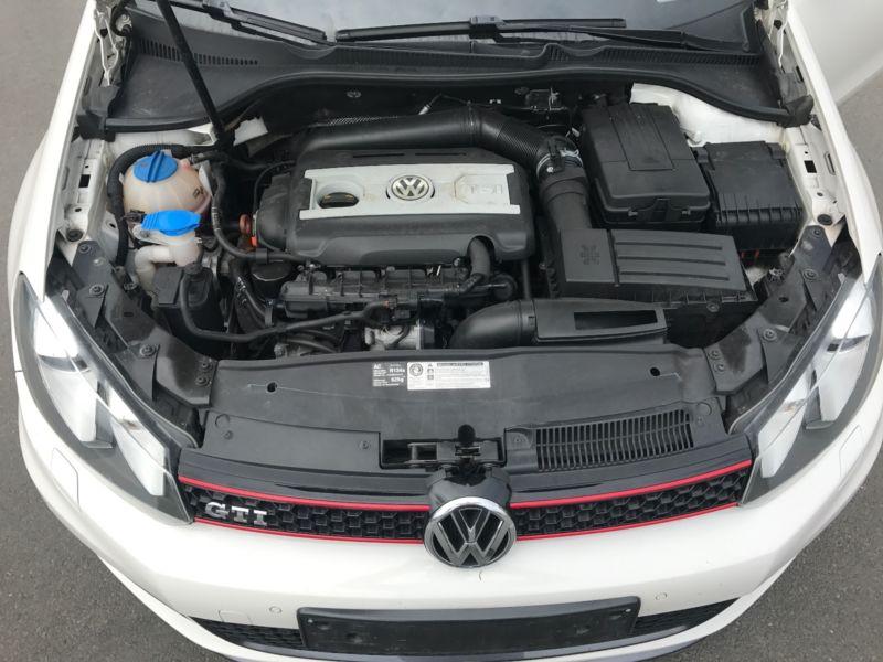 VW GOLF 6 GTI 109MKM BLANCHE 5 PORTES