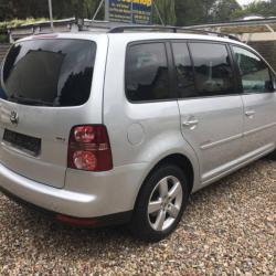 VW TOURAN 1.9TDI 98 530 km 09 2008 GRIS 05