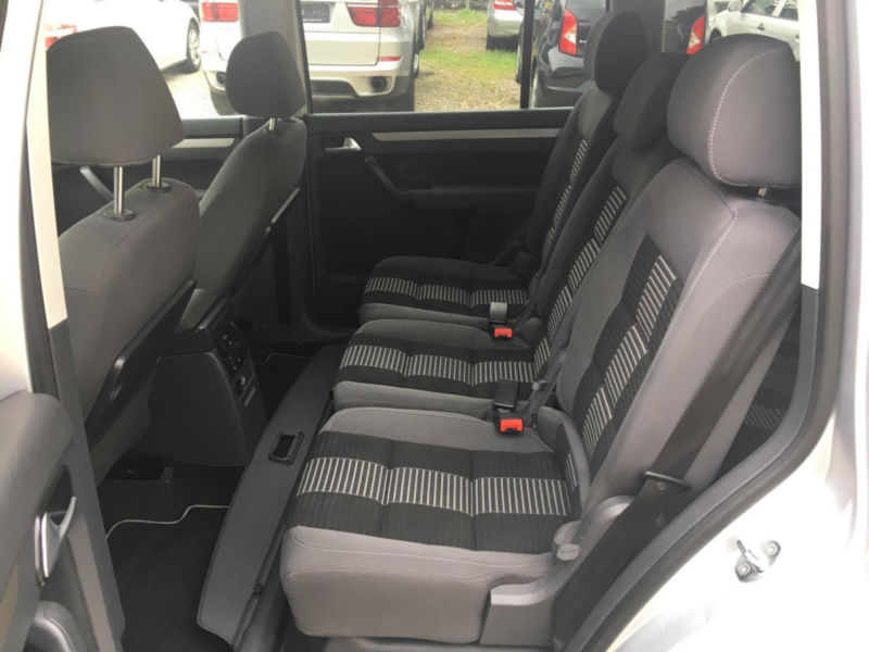 VW TOURAN 1.9TDI 98 530 km 09 2008 GRIS 12